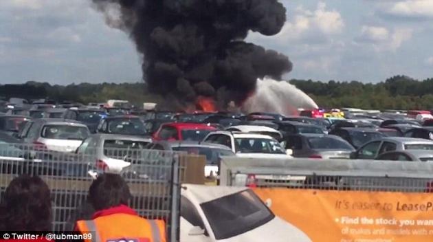 Авиакатастрофа в аэропорту Blackbushe.