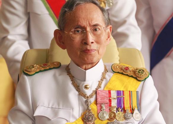 Король Таиланда Пхумипон Адульядет.