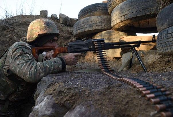 Солдат армии обороны Нагорно-Карабахской Республики.