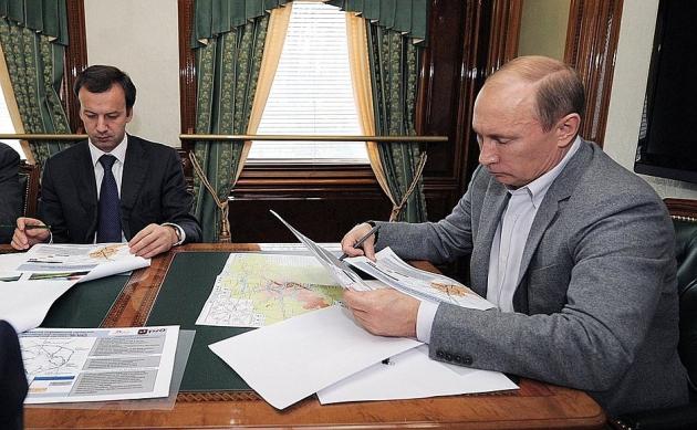 Путин поздравил работников и ветеранов железнодорожного транспорта