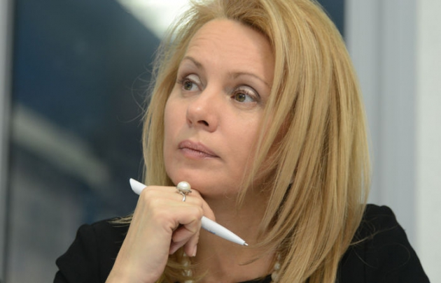 Наталья Третьяк —  заместитель министра образования и науки.
