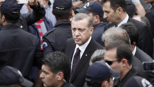 Эрдоган, Реджеп Таип — президент Турции.
