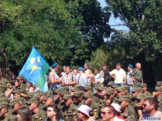 В Ростове-на-Дону в День ВДВ угощают солдатской кашей