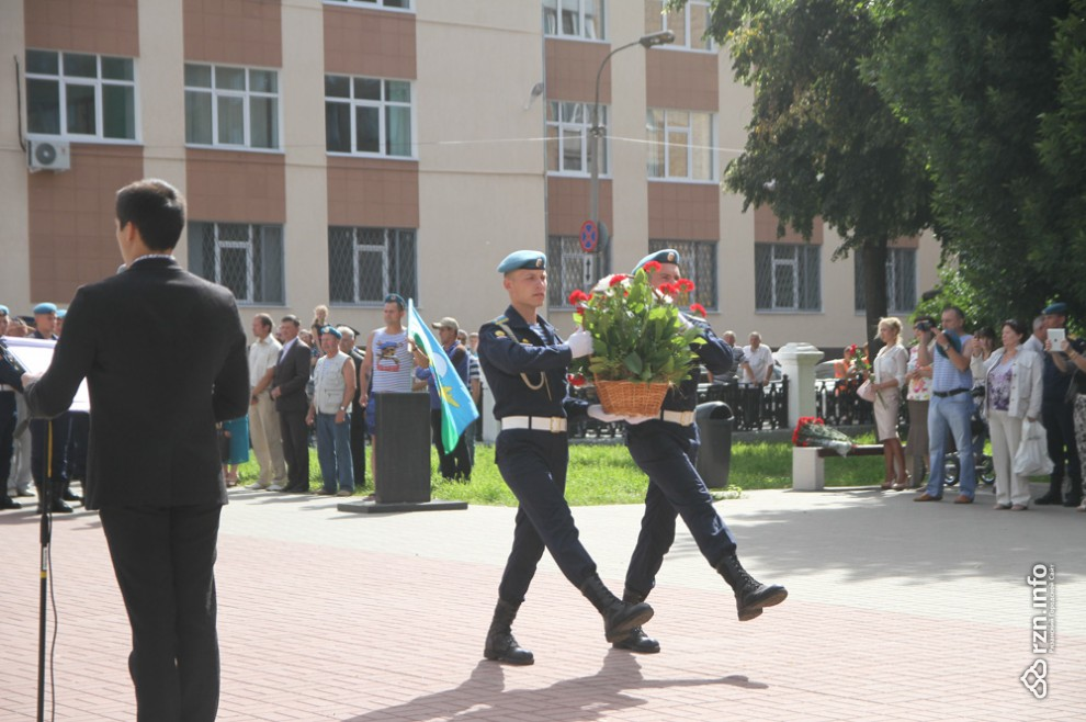 День ВДВ в Рязани.