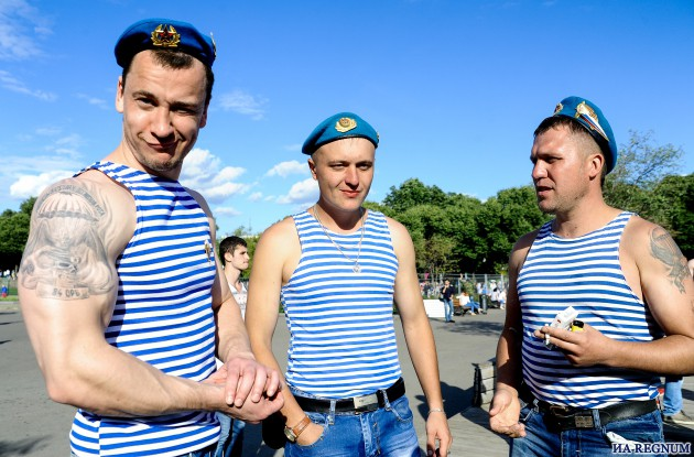 День ВДВ в Москве. Фото: Д.Антонова ИА REGNUM