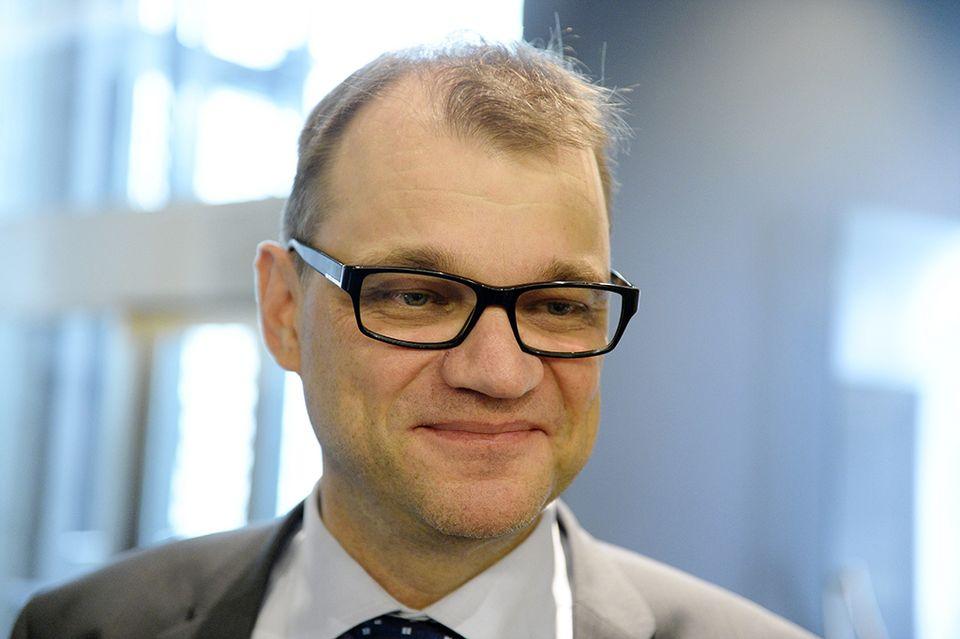 бывший премьер-министр Финляндии Юха Сипиля