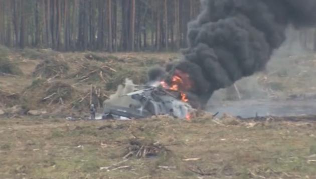 Названа причина падения вертолета Ми-28Н под Рязанью