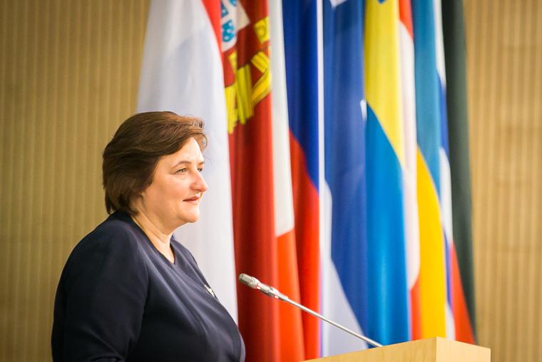 Спикер Сейма Литвы Лорета Граужинене.