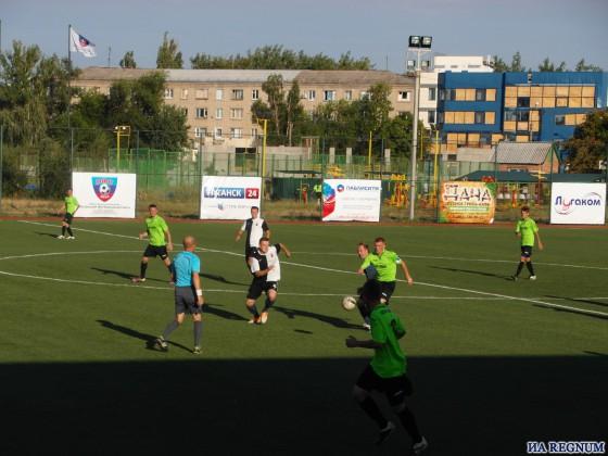 Чемпионат ЛНР: луганская «Заря» впервые осталась без победы