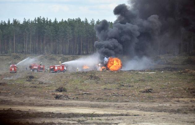 Штурмана Ми-28, рухнувшего под Рязанью, отправят на лечение в Подмосковье
