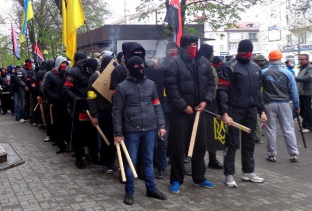 Боевой отряд «Правого сектора».
