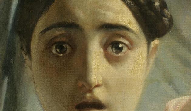 Карл Брюллов. Последний день Помпеи. Фрагмент. 1833 год