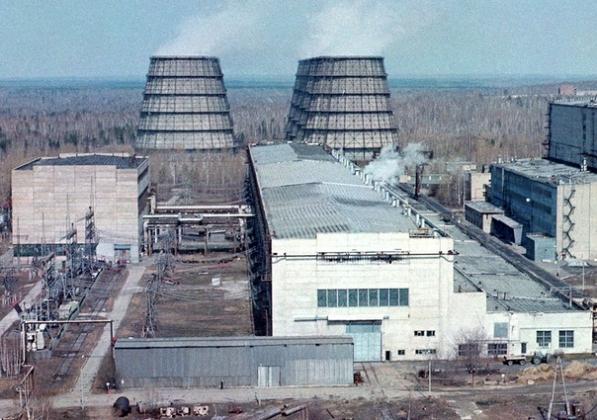 АЭС в городе Северске (Томская область).