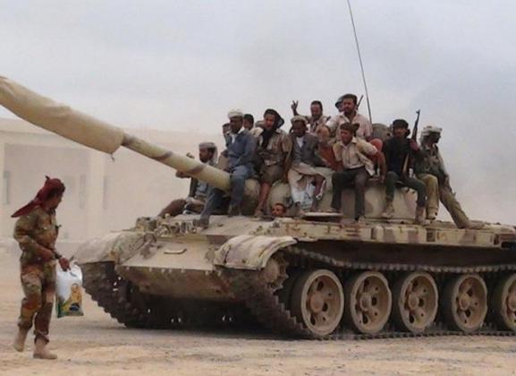 Сторонники йеменского президента Абд Раббу Мансура Хади.