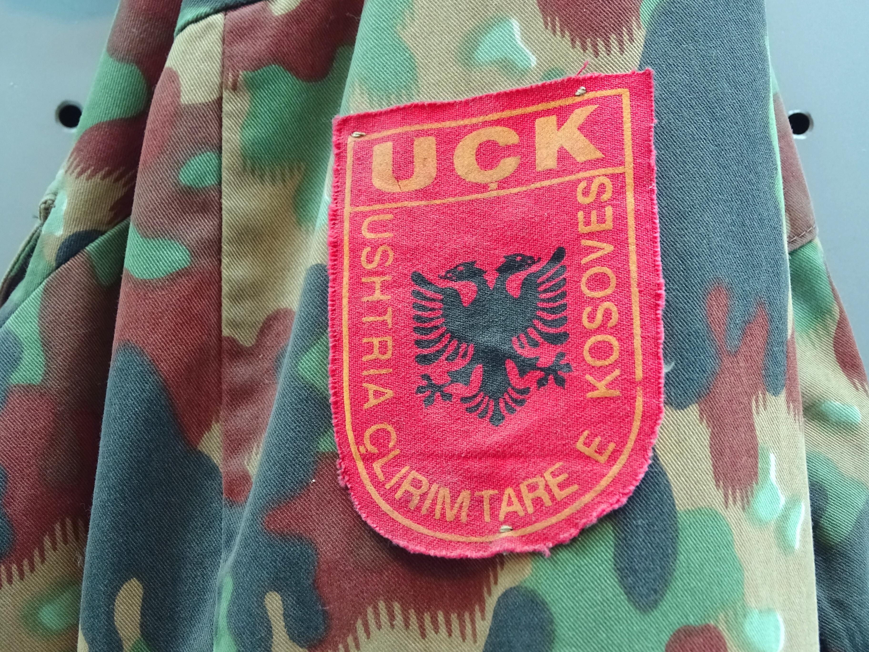 Форма освободительной армии Косово (ОАК)