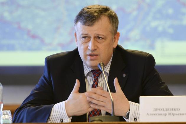 Александр Дрозденко — глава Ленинградской области.