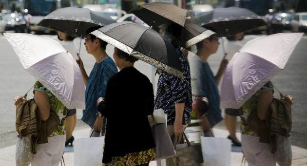 Жертвами жары в Японии стали 25 человек
