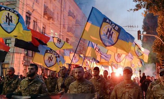 Новый демократический порядок Украины: штурмовые отряды в Харькове
