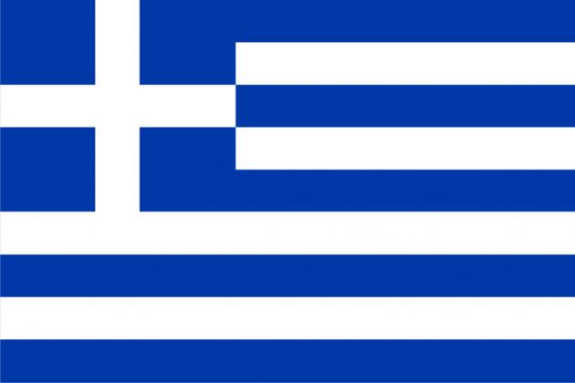 Флаг Греции.