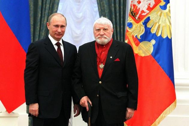 В Псковской области простились с народным художником Петром Оссовским
