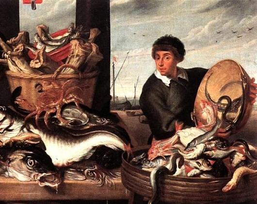Ф. Снейдерс. Рыбная лавка. 1621 год