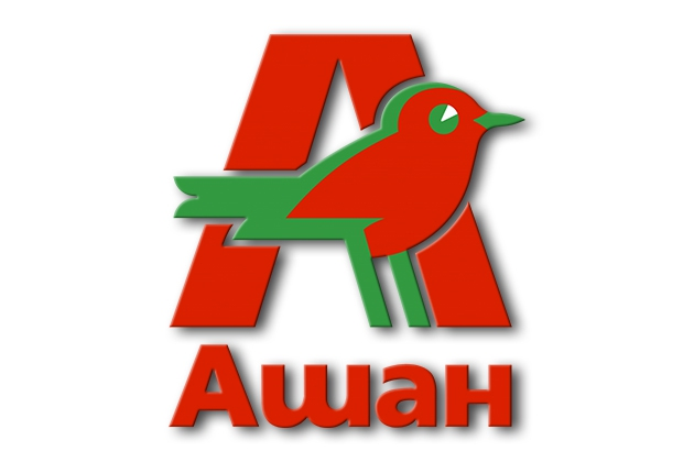 Логотип корпорации Groupe Auchan SA.