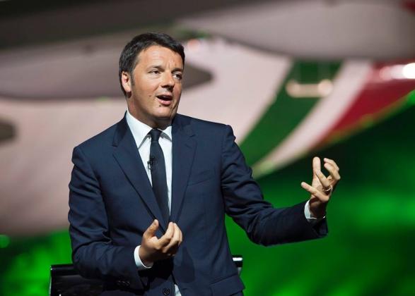 Премьер-министр Италии — Маттео Ренци.