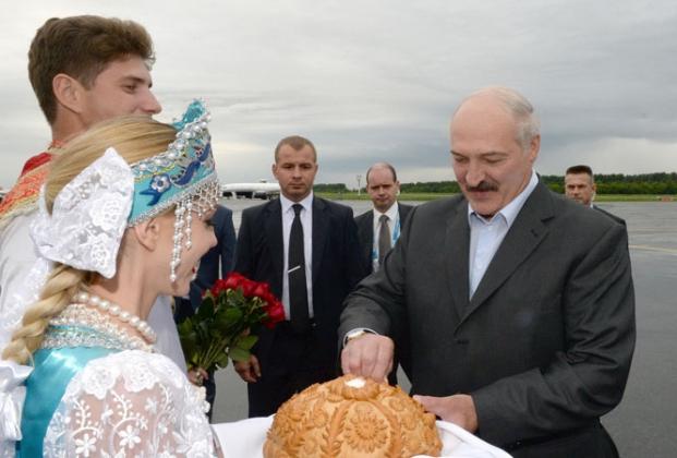 Президент Белоруссии — Александр Лукашенко.