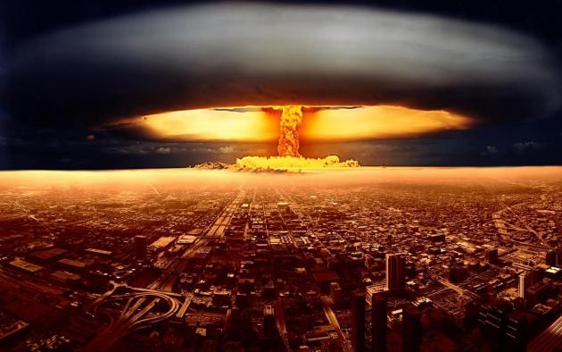 Ядерный взрыв.