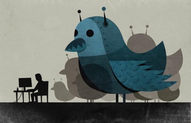 В Твиттере больше 20 млн ботов.