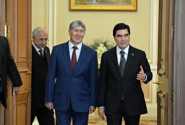 Президент Туркмении находится в Киргизии с госвизитом
