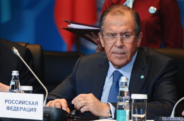 МИД России — Сергей Лавров.