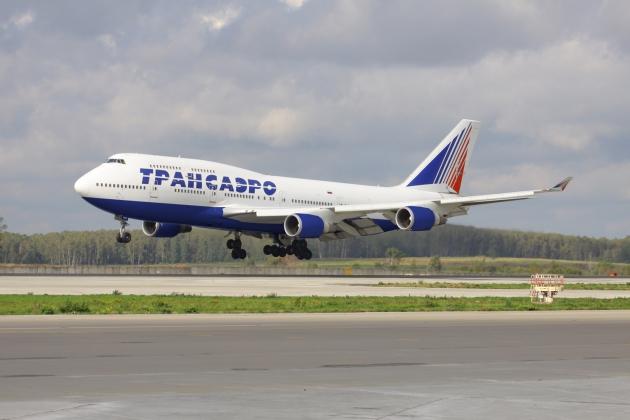 Неисправный Боинг сел в подмосковном аэропорту  Домодедово