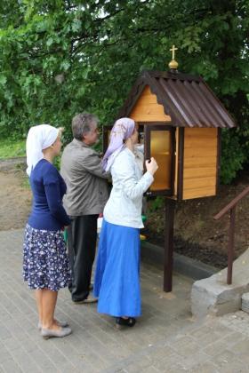 В Калуге появилась первая православная уличная библиотека