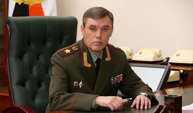 Валерий  Герасимов — начальник Генштаба Вооруженных сил РФ.
