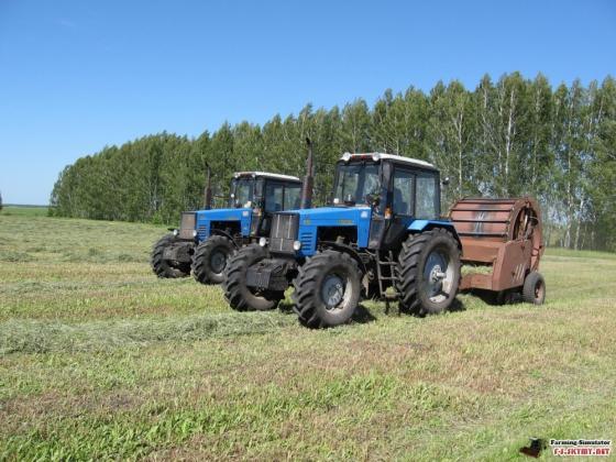 В Алтайском крае заготовили более 1 млн. тонн кормов