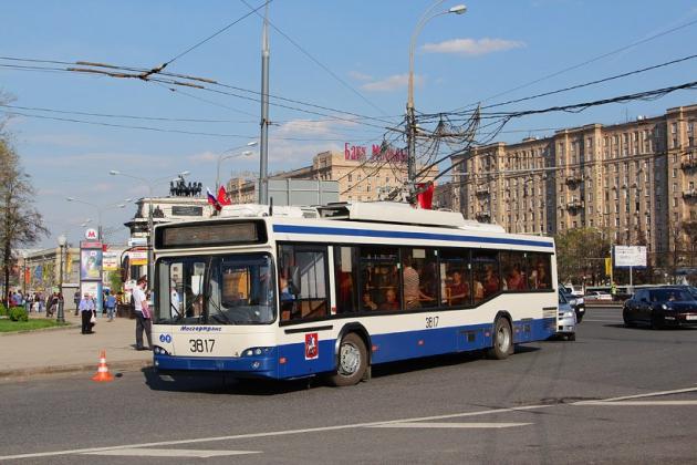 В Москве восстановлено движение всех троллейбусов и трамваев