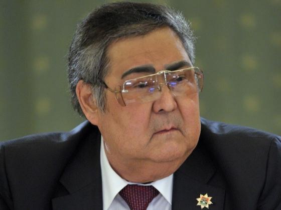 Глава Кузбасса Аман Тулеев.