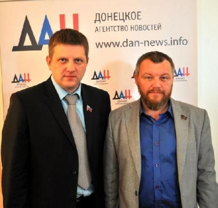 Алексей Карякин и Андрей Пургин.