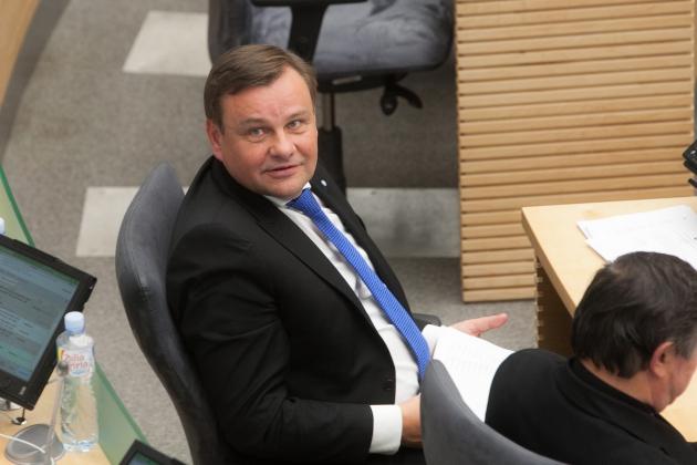 Заместитель спикера Сейма Литвы Видас Гедвилас.