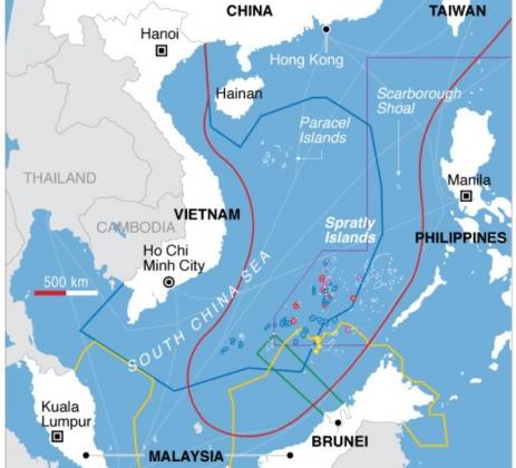 Южно-Китайское море. Иллюстрация: overthepeak.com