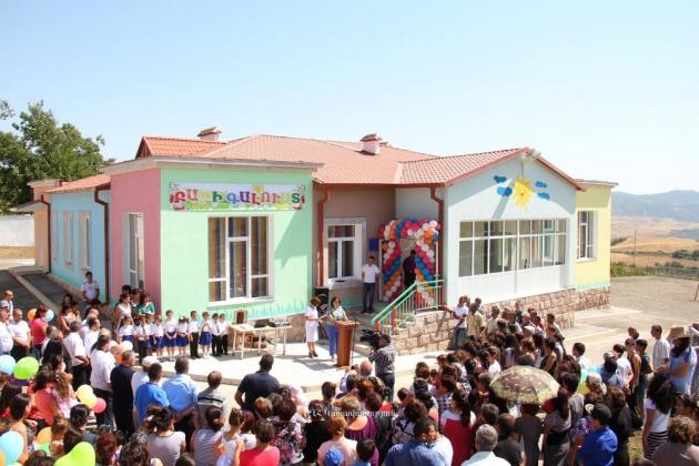 В Нагорном Карабахе появился ещё один детский сад