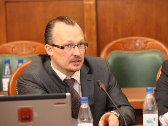 Дмитрий Чемакин — министр промышленности  Калининградской области.