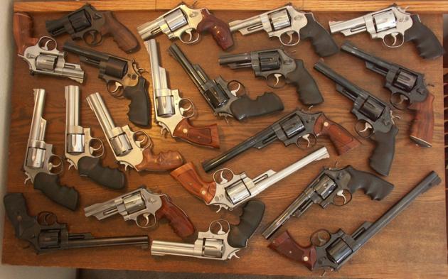 Огнестрельное оружие.