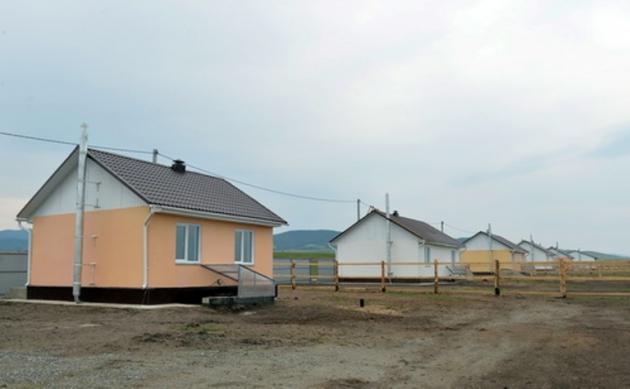 В Хакасии идет строительство домов для погорельцев. Фото r-19.ru