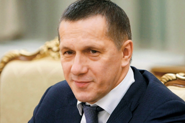 Полпред президента РФ в ДФО — Юрий Трутнев.