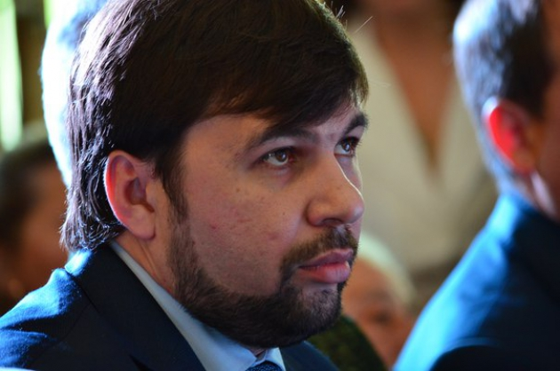 Полпред ДНР — Денис Пушилин.