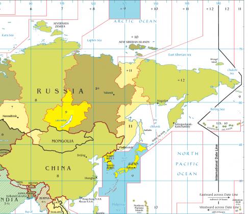 Текущий часовой пояс Северной Кореи (пояс Палау, UTC +9).
