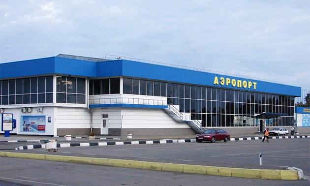 Аэропорт Симферополя.
