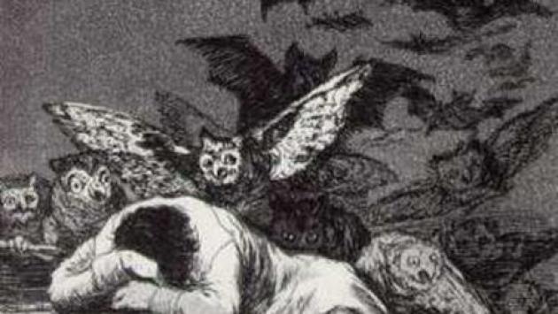 Франсиско Гойя. Сон разума рождает чудовищ.